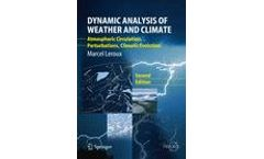 Dynamic Analysis of Weather and Climate