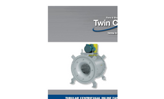 Model TCLB - Belt Driven Tubular Centrifugal Inline Fan Brochure