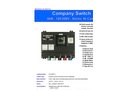 Union Connector - Model CSC-0610-CL - Basic Company Switch with Series 16 Cam-Lok Receptacle – 60 Amp  Brochure