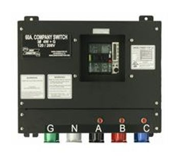 Union Connector - Model CSC-0610-CL - Basic Company Switch with Series 16 Cam-Lok Receptacle – 60 Amp