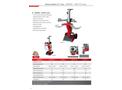 AMR - Model FB506TF/FB507TF Series - Vertical Splitter 6 / 7 Tons - Datasheet