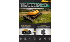 Alamo TRAXX - Model RC28 - Rotary-type Remote Controlled Industrial Mower - Brochure