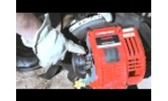 The TB4BP EC gas leaf blower | How to set up your backpack blower - Video