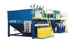 Kontek - Model 1300 - Fully Automated Continuous Physical Chemical Precipitation Processes System