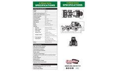 Jarraff - 4-Wheel Drive Line Backer Brush Cutter- Brochure