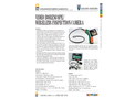 ERE - Model EX-BR200 - Video Borescope/Wireless Inspection Camera Brochure
