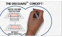 ERTEC GR8 Guard™ Drain Inlet Protection: Features and Benefits - Video