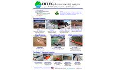 ERTEC Product Line Overview - Brochure