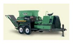Model PG-900 - Wood Waste Recycling Equipment