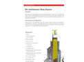 Air Discharge Continuous Flow Dryers
