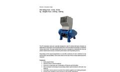 DJE - PC 15Kw - 45 Kw - Medium Granulator - Brochure