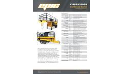 EaglePicher - Model C120 - 1,000 Gallon Tank Hydro Seeder Brochure