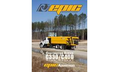 Epic - Model C330HO - 3,000 Gallon Tank Hydro Seeder Brochure
