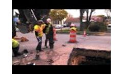 Madison Water Utility Builds New Water Mains - Inside the Old Ones Video