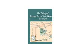 Ra Ditapia Stories of the Okavango Swamps  Brochure