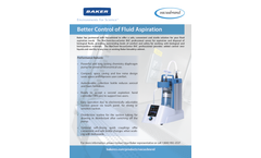 Vacuubrand - Model BVC - Fluid Aspiration System - Brochure