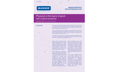 Physoxia is the Basis of Good Cell Culture Practice - Application Bulletins