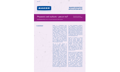 Physoxic Cell Culture - Yes or No? - Application Bulletins