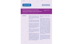Protecting Cell Environment: Keeping It Stable with CondoCell - Application Bulletins