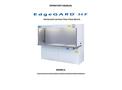 EdgeGARD - Model HF - Horizontal Laminar Flow Clean Bench - Manual