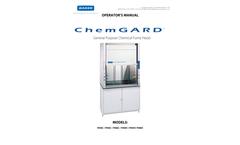 ChemGARD - General Purpose Chemical Fume Hood - Operators Manual
