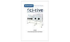 Baker Ruskinn - Model SCI-tive - Dual Chamber Hypoxia Workstation - Manual