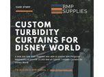 Custom Turbidity Curtains for Disney Land
