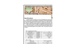 Western Excelsior - Model Excel SR-1 - Erosion Control Blanket (ECB) Datasheet
