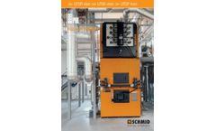 Schmid - Model UTSP - Underfeed Stoker Furnace - Brochure