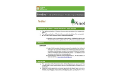 PineBind - Natural Dust Control and Stabilizer Datasheet