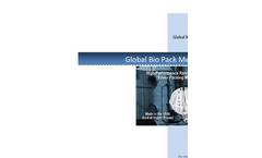 Bio Pack Media Specification Brochure