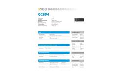 Q-See - Model QC894-4ES-1 - 4 Channel IP HD Bullet Cameras Brochure