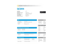 Q-See - Model QC894 - 4 Channel 1080p IP Network Video Recorder Brochure