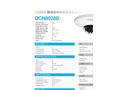 Q-See - Model QCN8028D - 3MP IP HD Dome Security Camera with Built-In Microphone Brochure