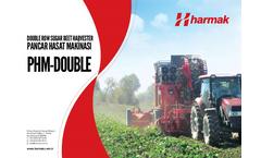 Harmak - Model BLY-03 - 3 Thread Crop Chopping Baler Machine Brochure