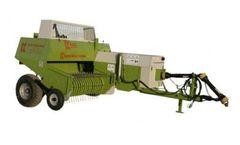 Kayhan Ertugrul - Model KE 555 - Baler Machine (Non-Chopper)