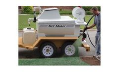 TurfMaker - Model 325 - Hydroseeder Machine