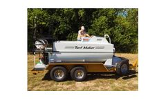 TurfMaker - Model 1000 - Hydroseeder Machine