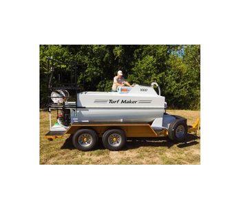 TurfMaker - Model 1000 - Hydroseeder Machine
