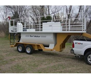 Deck & Railing Hydroseeder - Model 1200 - TurfMaker
