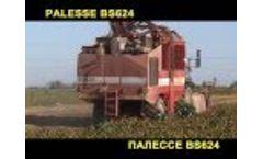 Self-propelled beet harvester SCS-624-01 `PALESSE BS624 Video