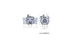 Annovi - Model AR 75 LFP AP C/C cod. 33175 - Semi Hydraulic Three Diaphragm Pump Brochure