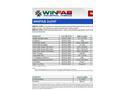 WINfab - 2x2HF - High Tenacity Polypropylene Yarns Datasheet