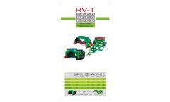 Green-Produzione - Model RV-T 1500/2000/2500/3000 - Turning Roller Brochure