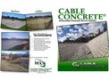 Cable Concrete - Articulated Concrete Block System- Brochure