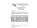 Model LG - Retaining System Specifications- Brochure
