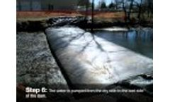 Dam-It Dams- Portable / Temporary Cofferdam Process - Video