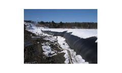 Portable water filled coffer dams for cold weather applications