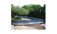 Portable water filled coffer dams for flood protection