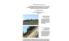 Slope Stabilization Info Sheet